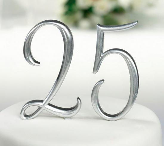 Свадебный юбилей 25 лет
