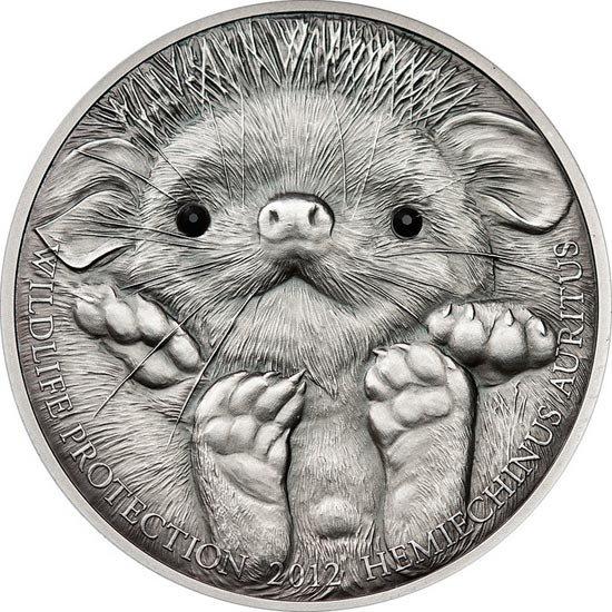 Серебряная монета коллекционная