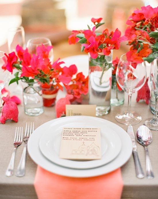 Цвета коралловой свадьбы