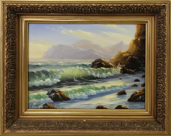 Картина моря в подарок