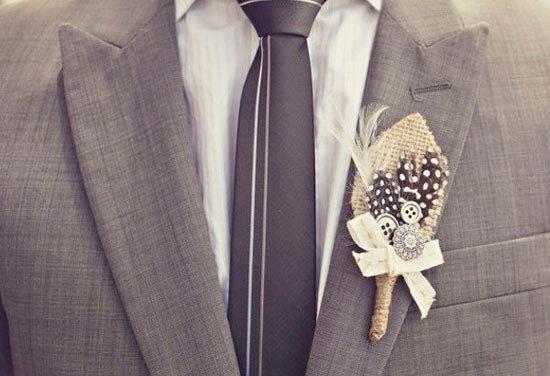 Бутоньерка невесты своими руками фото