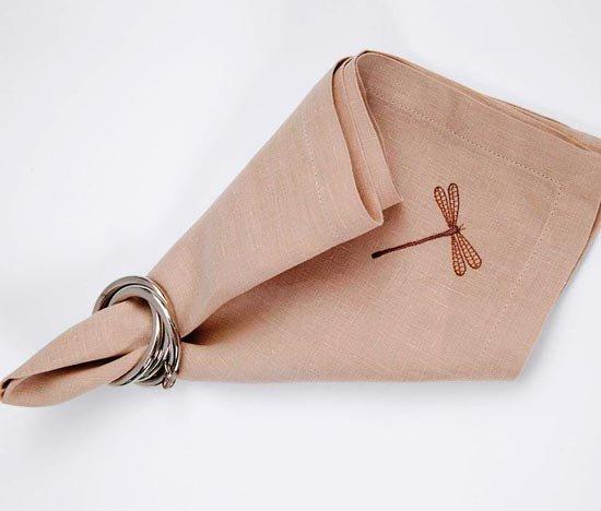 Льняной платочек