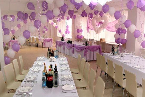 Украшения для свадебных залов своими руками