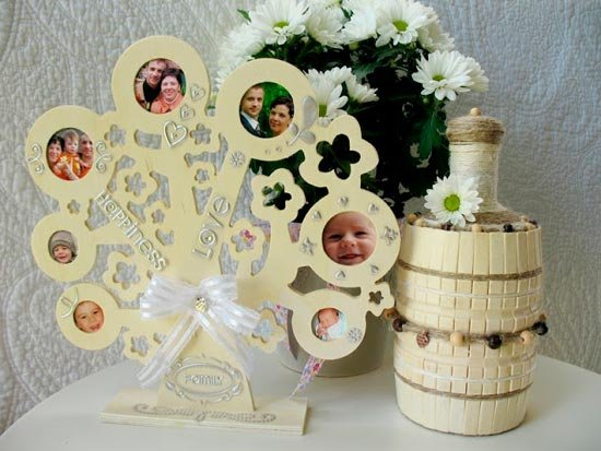 Подарки из дерева на деревянную свадьбу своими руками