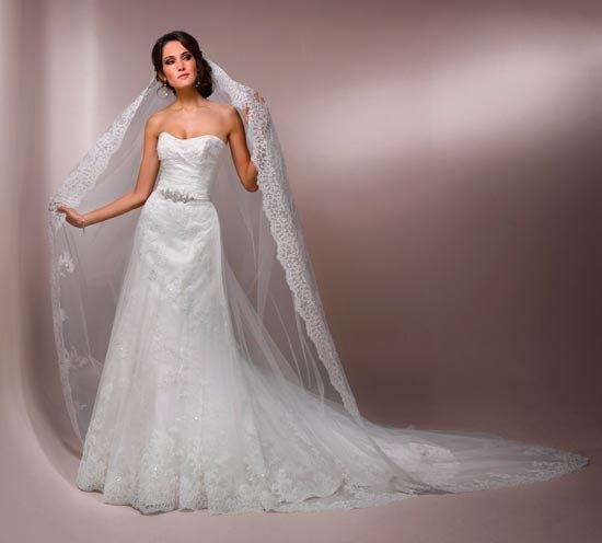 Фата: длинная или короткая?. Мода для невесты