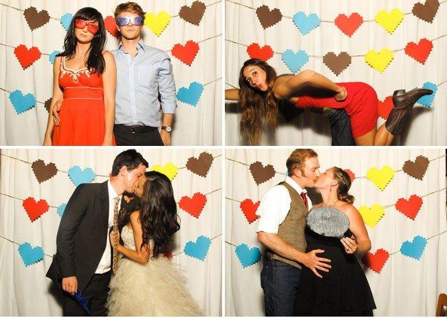 Фотозоны своими руками на свадьбу