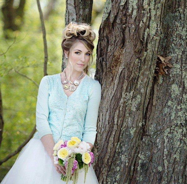 Что одеть на свадьбу невесте в холодную погоду - Свадьба