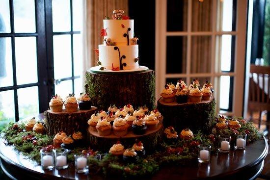Свадебные десерты по-осеннему