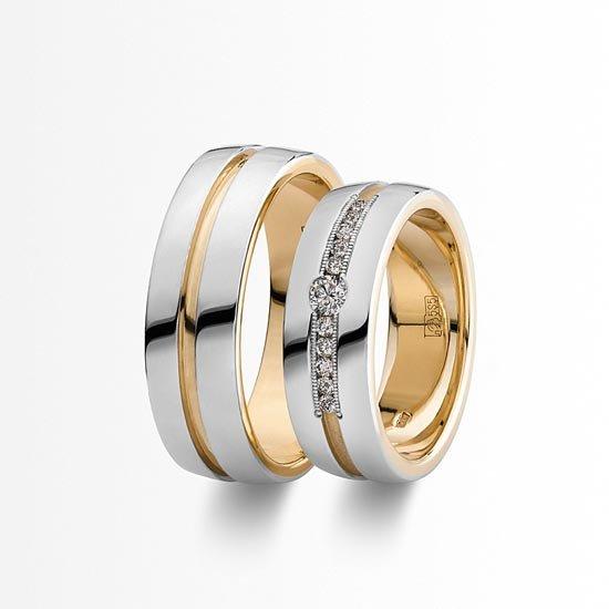 Обручальные кольца с пробой... Кольца обручальные